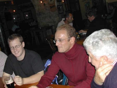 Ultimateclem (n'oeils fermés), Laurent et Kristian