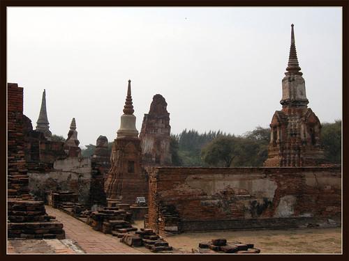 Ayutthaya Temple Ruines