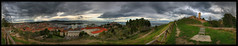 360 HDR Pano - Parco del Cardeto Ancona (otrocalpe) Tags: panorama lighthouse port canon faro tour 360 virtual 5d hdr quicktime mov ancona 12mp otrocalpe