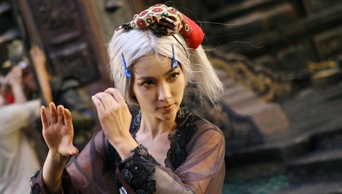 A Forbidden Kingdom Post Starring Li Bingbing Behind The