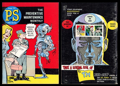 Preventive Maintenance Monthly Issue 117, 1962 (Will Eisner)