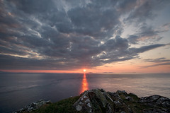 Sunset over Uist (: HimUpNorth :) Tags: sunset sea isleofskye explore minch uist neist