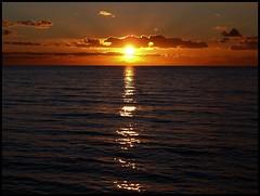 "Enjoy the weekend (Kirsten M Lentoft) Tags: sunset sky sun water clouds bravo themoulinrouge mywinners anawesomeshot momse2600 ""isawyoufirst"" diamondclassphotographer flickrdiamond excellentphotographerawards betterthangood goodnightdearest mmmuuahhh enjoybdayparty kirstenmlentoft"