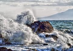 momentum (olaf gunderson) Tags: sea naturaleza nature ed mar surf explorer olympus andalucia 300 70 olas zuiko mlaga 70300 mbm espaaspain owl165 olafgunderson mpetu zuiko70300 explorer29042008