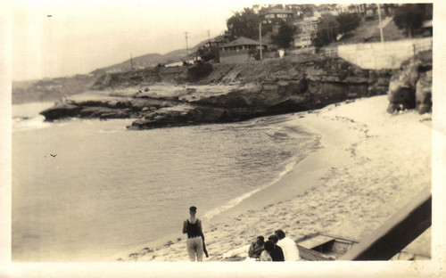 La Jolla Cove, May 1928