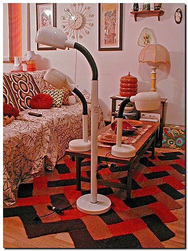 70's Floor Lamp