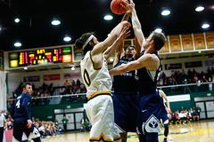 USF Basketball vs BYU 226 (donsathletics) Tags: usf mens basketball vs byu 226 jordan ratinho university san francisco dons