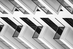 Urban geometry / Geometria Urbana (brenno182) Tags: urban geometry canon 70d black white minimalism minimal minimalismo street photography fotografia de rua 18135mm preto e branco abstract abstrato architecture arquitetura e… brasil são paulo sp paulista brenno souza paulínia campinas piracicaba unimep