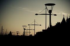 City of Silhouettes (Rutger Blom) Tags: city public evening silhouettes lanterns avond stad östermalm kväll silhuetter kvll lyktor lantarens silhoueten stermalm