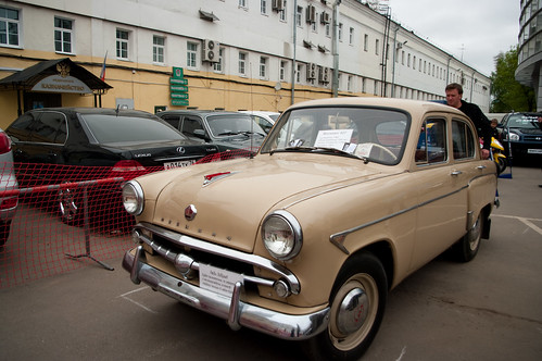 Russian old car Moskvich