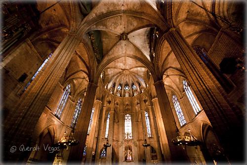 Catedral de Barcelona by Queralt Vegas