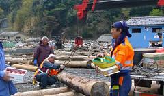 石巻再訪:ボランティアの大工さん