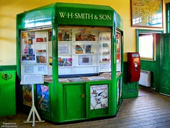 Newsagents (dogmarten28) Tags: heritage museum trains essex whsmith colnevalley royalwedding chappel newsagents eastanglianrailwaymuseum wakescolne platformticket dogmarten28