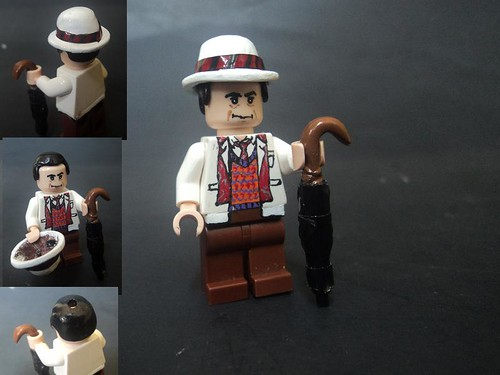 Custom minifig The Seventh Doctor