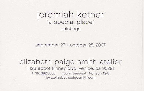Jeremiah Ketner @ Elizabeth Paige Smith