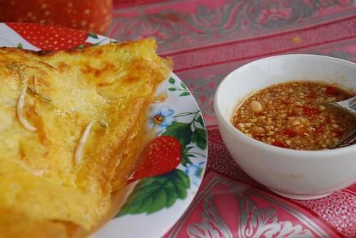 Luang Prabang omelette