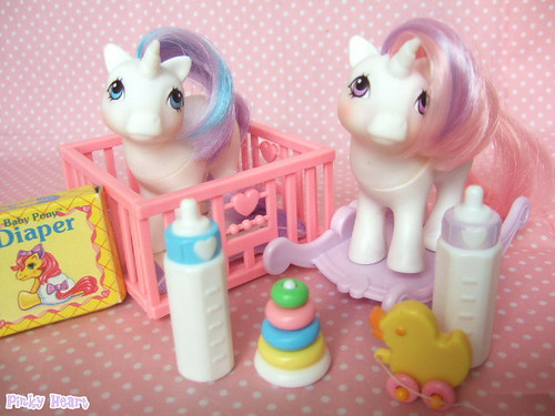 G1 My Little Pony Babies