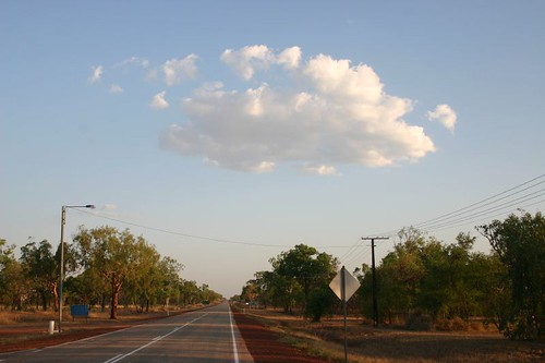 A lonely Soldier of the Sky. Larrimah, NT.