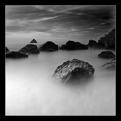 Secret Stones (alpaugre) Tags: longexposure sea blackandwhite france rocks shots questfortherest outstanding laseyne outstandingshots impressionsexpressions theperfectphotographer lesdeuxfreres