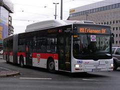Nürnberg Bus (So Cal Metro) Tags: man bus germany metro nuremberg transit nürnberg articulatedbus