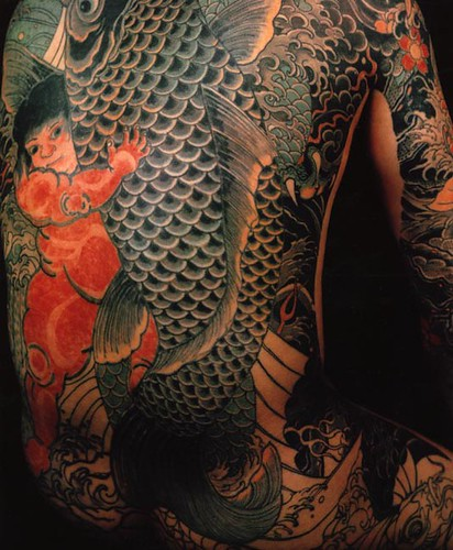 tattoo japanese fish