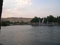 Nile View (upyernoz) Tags: boats egypt nile aswan  elephantineisland  falucca nubianvillage