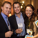 Forum 2007  - Board Member Mike Anders, with Michael Green and member Kirsten Green at the VIP Reception