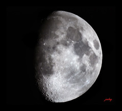 Moonshot 19/12/07 (jonboy24/7) Tags: sky moon night lune star space satellite luna craters crater astrophotography astronomy universe espace solarsystem astronomie univers cratre cratres systmesolaire