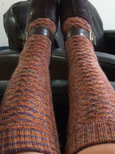 Red Dwarf Knee Socks (1)