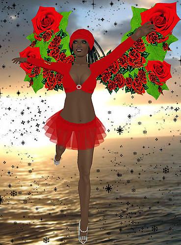 Flutterby Free Dress