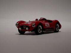 Maserati A6 GCS Giro DI Sicilia 1955 (czd72) Tags: 1955 scale de maria di teresa bang sicilia maserati a6 giro 143 408 gcs filippis