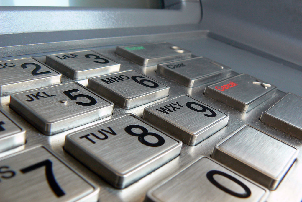 ATM Keypad 2 by catatronic, on Flickr