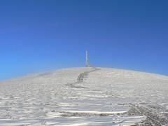 The summit of Morrone (Nick Bramhall) Tags: winter snow walking scotland corbett cairngorms morrone