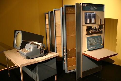 DEC PDP-1 by Peter Dreisiger, on Flickr