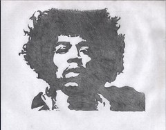 hendrix 2_nov (NattyDread666) Tags: musician art pencil portraits sketch artwork drawing famouspeople hendrix jimi jimihendrix