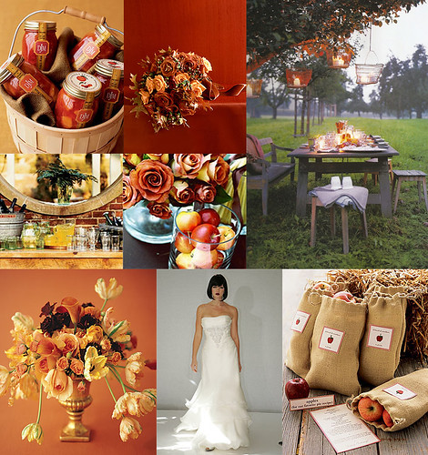 A Fall Wedding, Fall Wedding Inspiration flowers decorations table arrangement