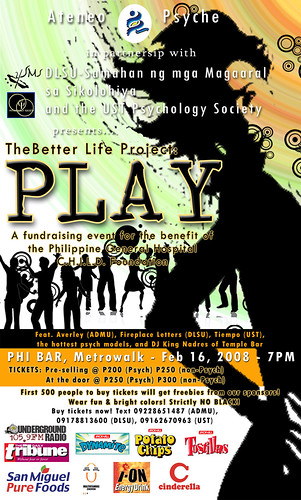 The Better Life Project: PLAY