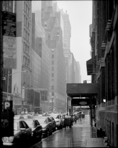 45th Street in the rain on Flickr