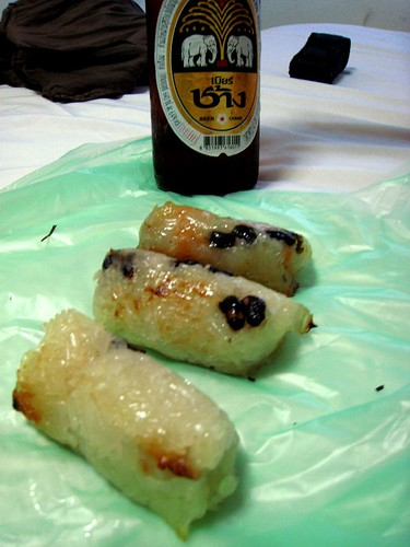 Still life: dumpling with Beer Chang