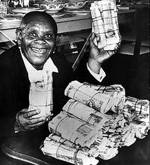 Khotso with Banknotes