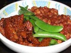 2008 02 - VCon Smokey Grilled Tempeh and Cheater Baked Beans
