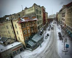 Albert Street (bryanscott) Tags: street winter snow building architecture winnipeg gritty manitoba albertstreet hdr