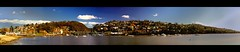 launceston harbour (mugley) Tags: city trees houses sky urban autostitch panorama nature water clouds landscape boats nikon d70 harbour bridges australia tasmania launceston tamarriver polariser 14xp 1855mmf3556gii