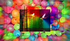Birthday fun (jodi_tripp) Tags: birthday motion balloons 3d rainbow colorful candles random digitalart pastels layers celebrate joditripp challengeyouwinner wwwjoditrippcom photographybyjodtripp