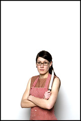Rita 1 (grahamcase) Tags: girl rita knife apron emilycarr photo1 studioflash