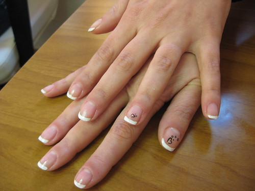 .. french manicure .. 2383743796_0709f840e