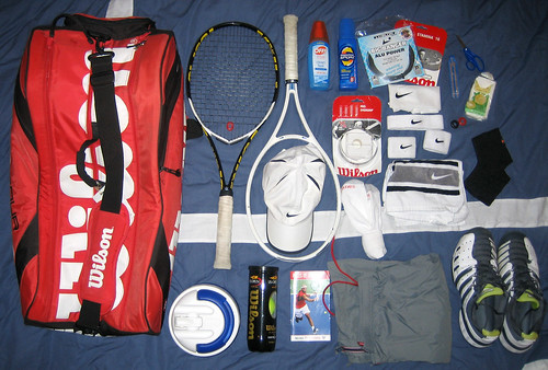 What's in My Tennis Bag