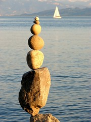 Balance - April 26 (Heiko Brinkmann) Tags: sculpture nature water germany ilovenature deutschland stones pebbles harmony balance bodensee balancing equilibrium rockbalancing lakeconstance rockbalance pebblebalancing stonebalancing stonebalance hickoree 1on1maritimephotooftheweek 1on1maritimephotooftheweekjune2008