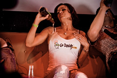 GoDaddy Girl Candice Michelle (Louish Pixel) Tags: sanfrancisco digg diggnation revision3 candicemichelle themighty louish livediggnation louishpixel