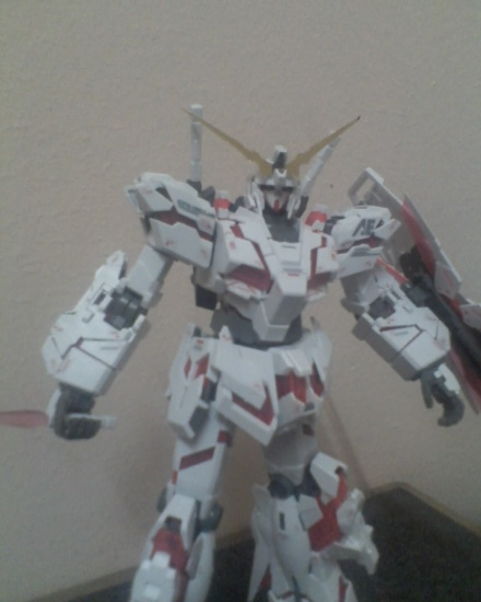 GUNDAM UNICORN-my kit destroy mode! 2473266496_ff5fa65821_o